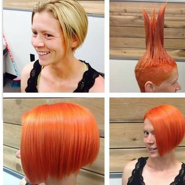 Orange-Red Bob for Every Day4