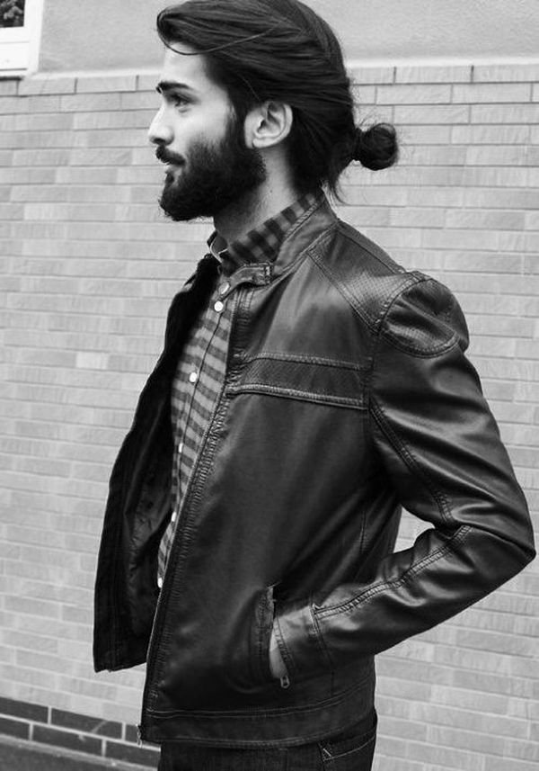 The best ideas for low man buns 2