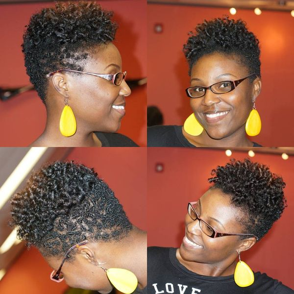 Short Natural Hairstyles For Black Women August 2019