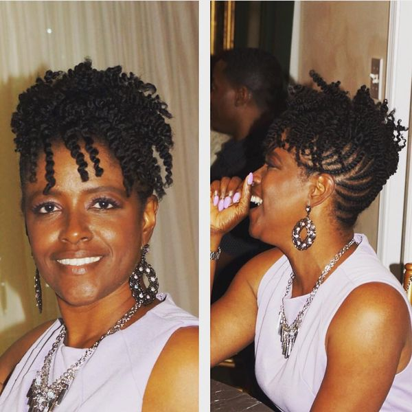 Short Natural Hairstyles for Black Women (October 2019)