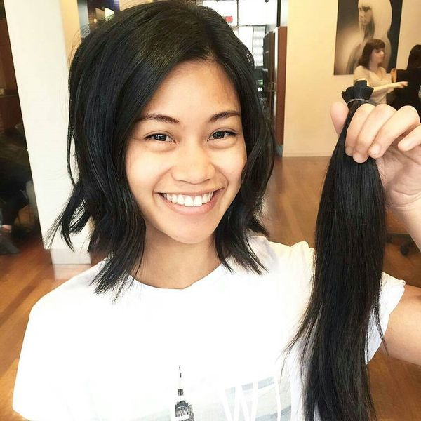 Wonderful Layered Long Bob Haircut2