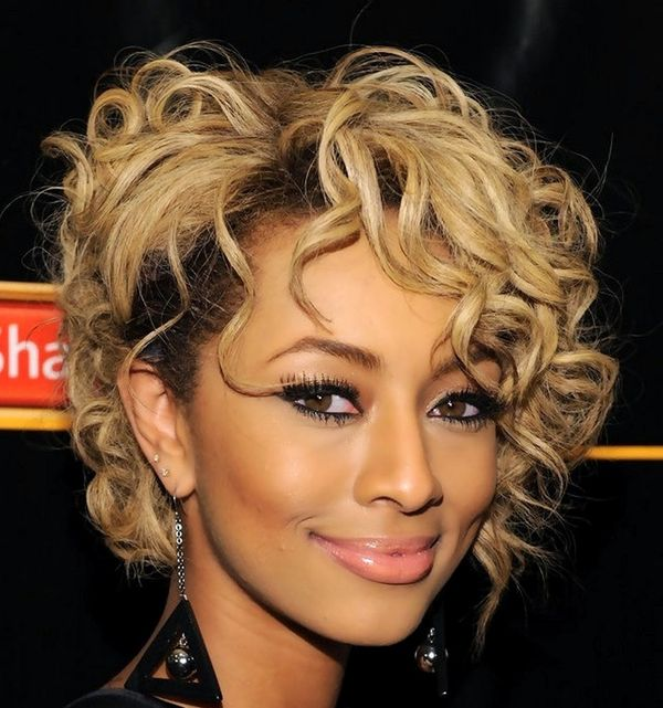 Black Womens Hairstyles for Short Curly Hair 1