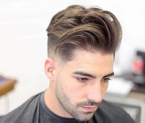 Messy Medium Length Hairstyles for Men 1