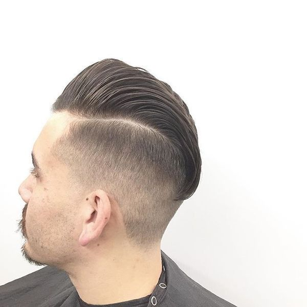 Undercut Hairstyles for Men with Receding Hairlines 1
