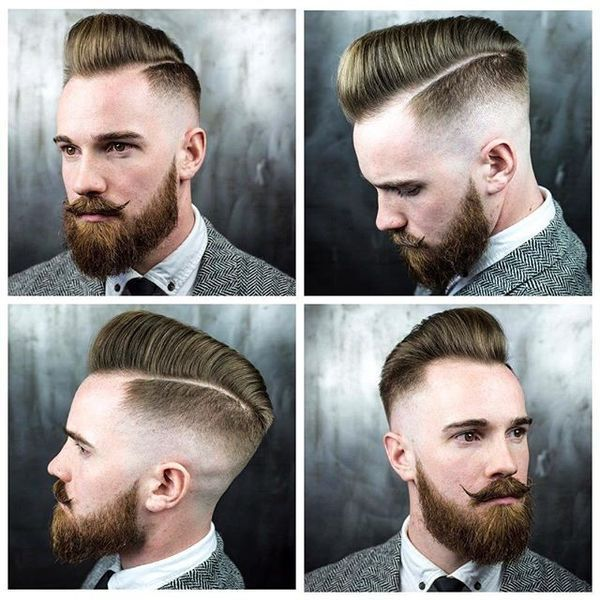 Good Fade Haircuts for Receding Hairline 2
