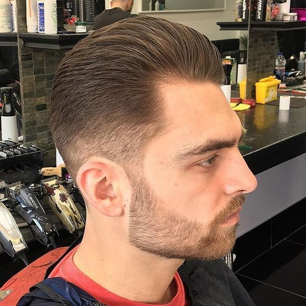 Good Fade Haircuts for Receding Hairline 1