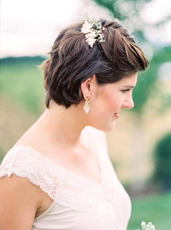 Simple Updos for Very Short Hair 2
