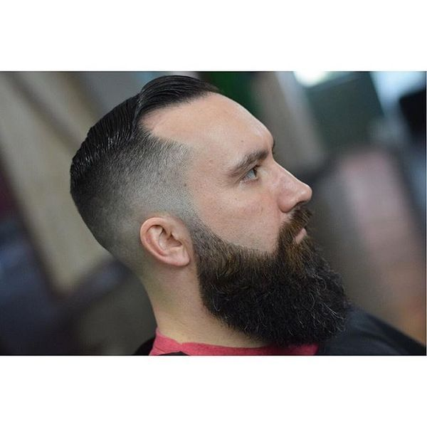 Buzz Cut Styles for Receding Hairline 1