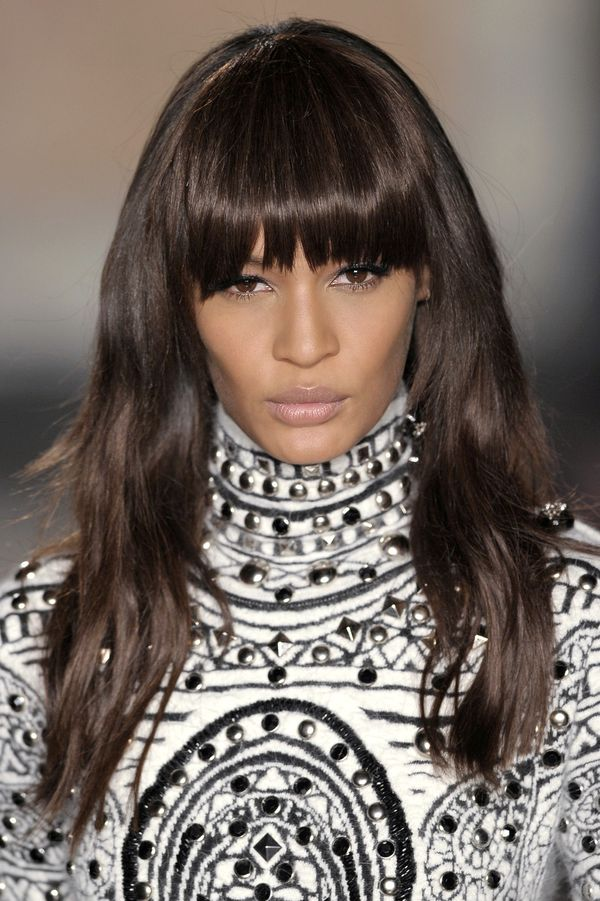 Amazing thick bangs for long hair with layers 3