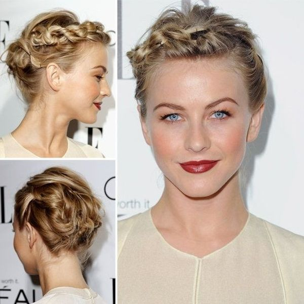 Simple Updos for Very Short Hair 3