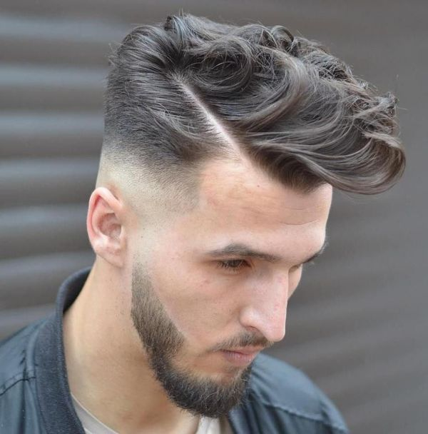 Curly and Wavy Comb Over Hairstyles for Men 4