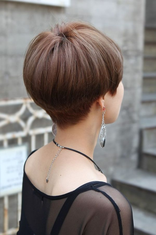 Hairstyles with Hair Stacked in the Back 5