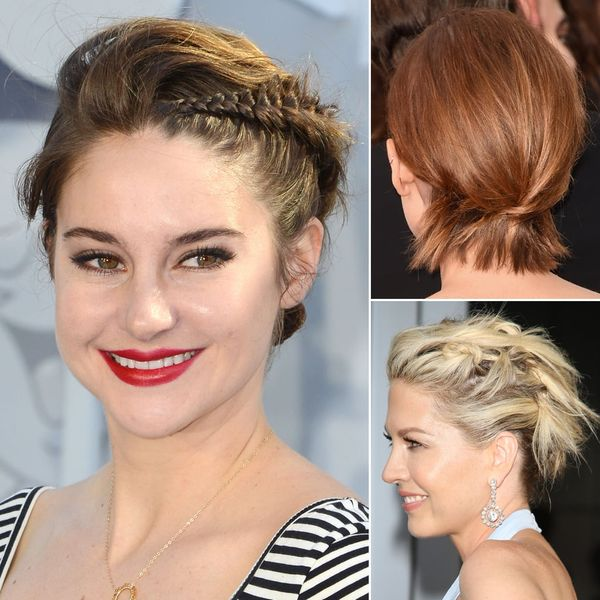 Casual Short Updos to Try if You Wear Bob 3