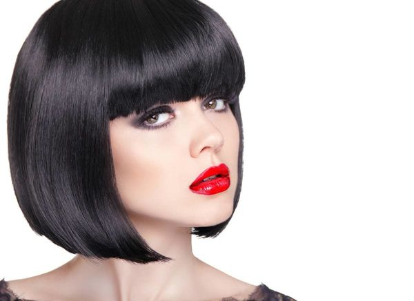 Ideas of Aline Bob with Bangs 1