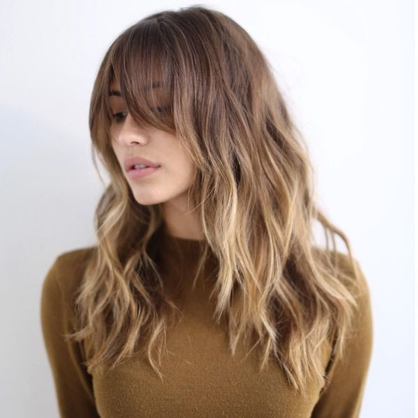 Ideas of long shag haircut 1