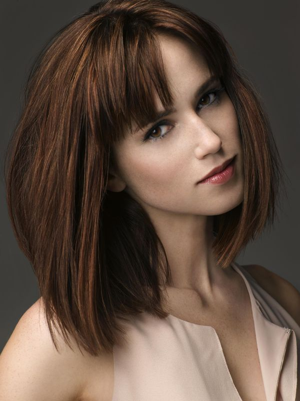 Medium Length Stacked Hairstyles 1