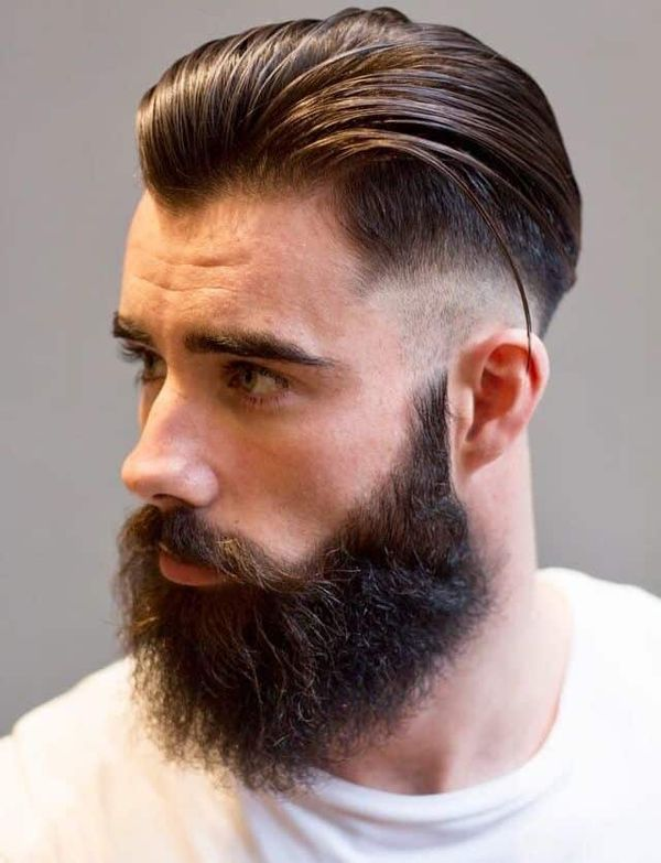 Mens Comb Over Taper Haircut Ideas 3