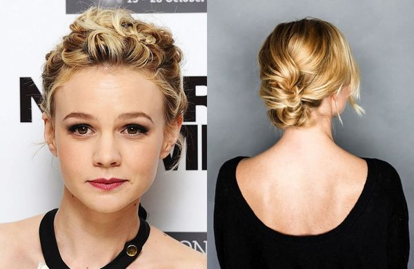 Cute Updos for Girls with Short Hair 2