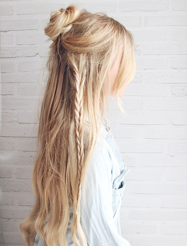 Braided Hairstyles for Very Long Blonde Hair 4