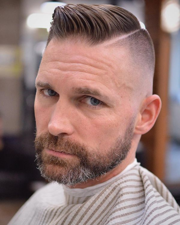 Mens Short Parted Hairstyles