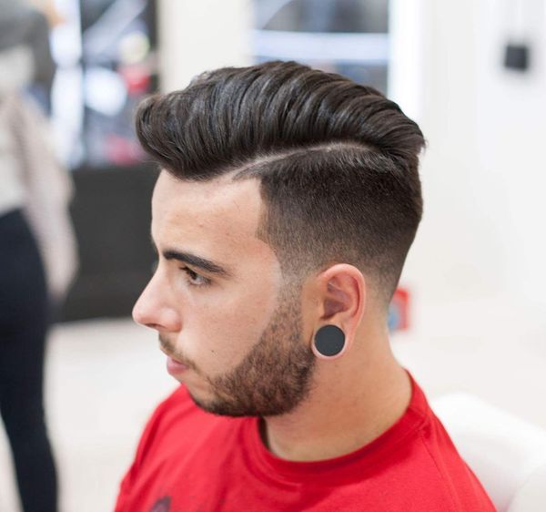 Cool mens side parted hair ideas 3