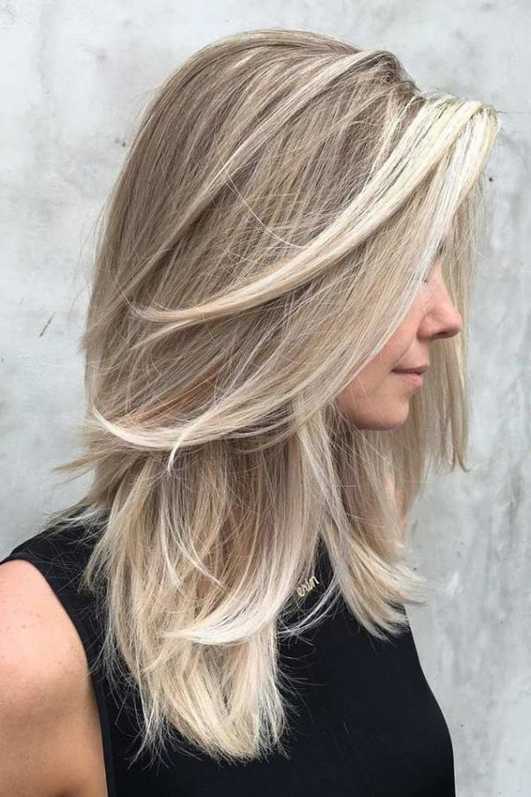 Layered Hairstyles for Women with Long Blonde Hair 2