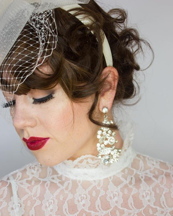 Beautiful Long Wedding Hairstyles With Veil12