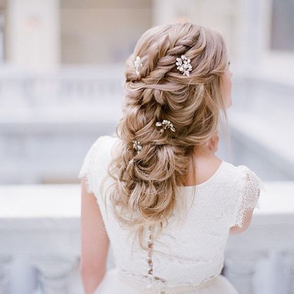 Hairstyle For Wedding Party Guest: Wedding Hairstyles For Long Hair, Bridal Updos For Long
