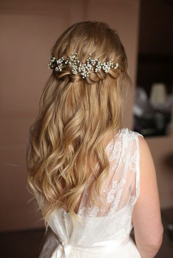 Popular Wedding Hairstyling Ideas For Long Hair 2