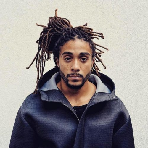 Dreadlocks Ponytail Hairstyle For Guys 2