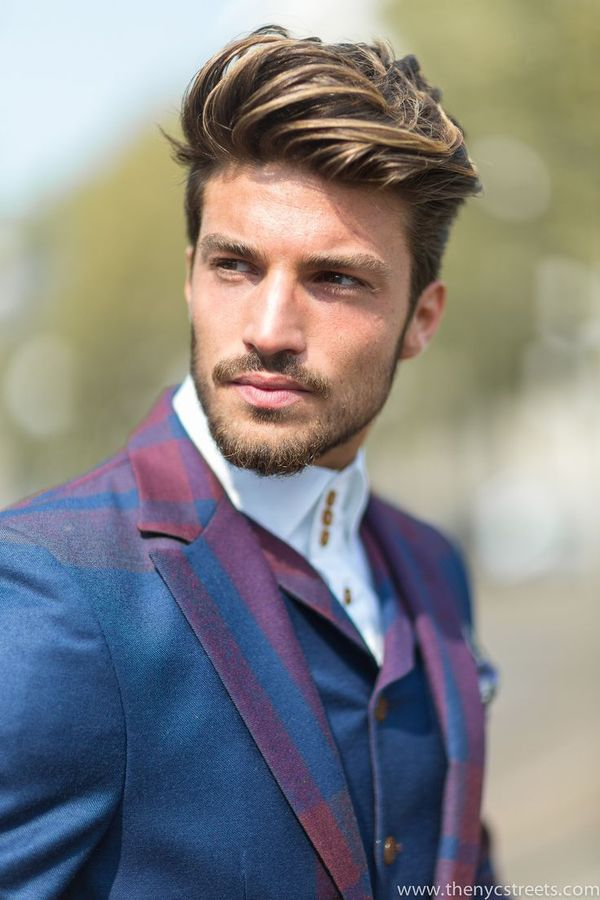 Trendy Hairstyles for Men with Dark Blonde Hair Color 1