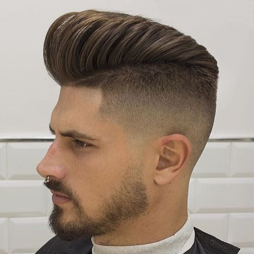Sexy Mens Hipster Haircuts With Beard 3