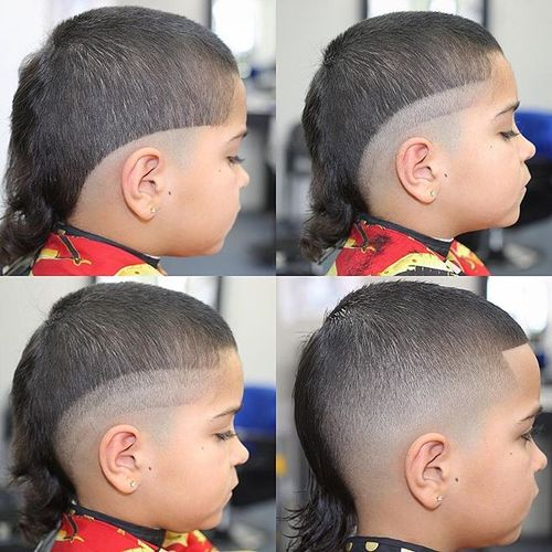 Stylish Mullet Hair Cut Ideas For Boys 1