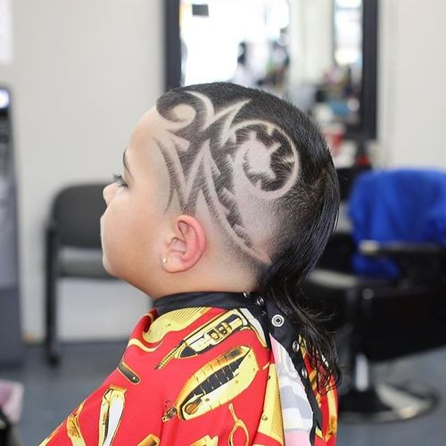 Stylish Mullet Hair Cut Ideas For Boys 2