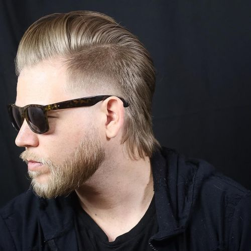 Male Mullet Fade Sides 1