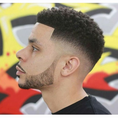 Dark Caesar Haircut Styles for Black men 2