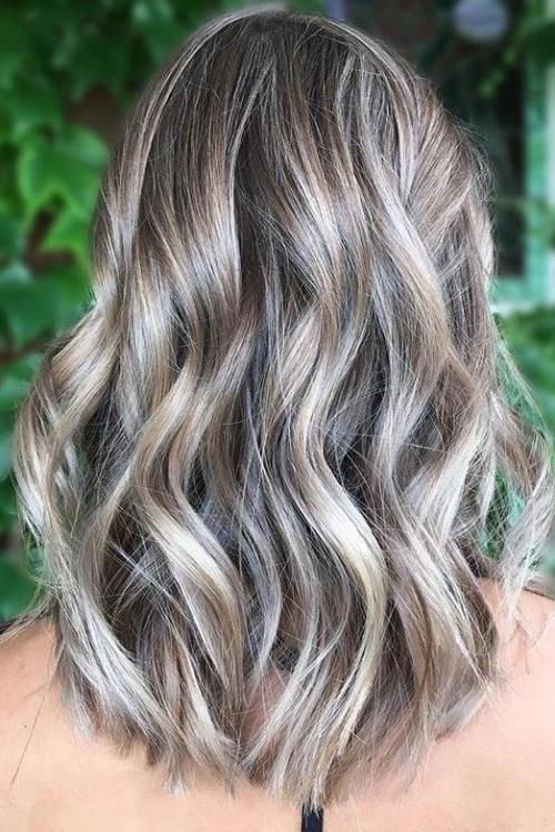 Ash Blonde Highlights On Brown Hair 2