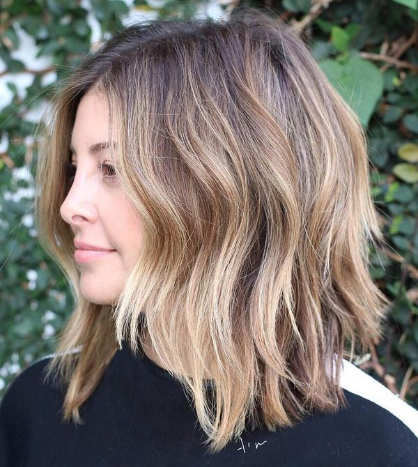 Awesome Lob Haircut With Layers For Long Hair 4