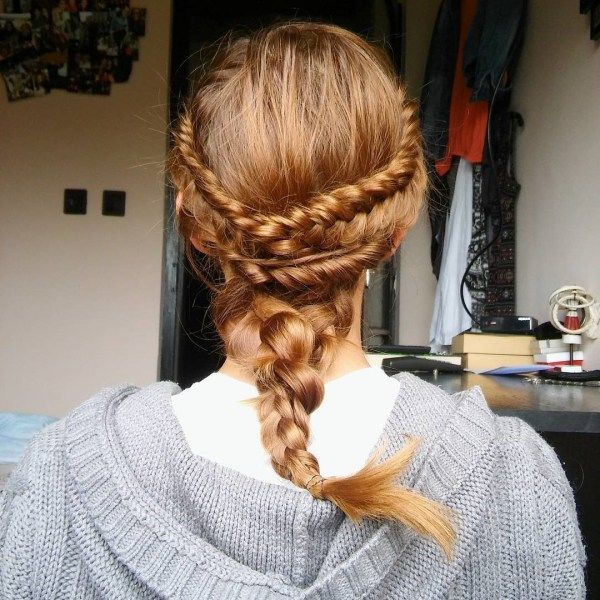 Awesome ideas of long plaited hair 2