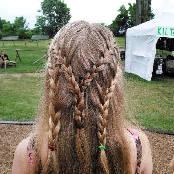 Awesome ideas of long plaited hair 3