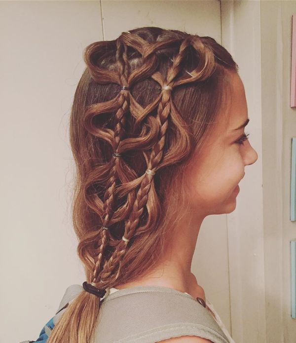 Awesome ideas of long plaited hair 5