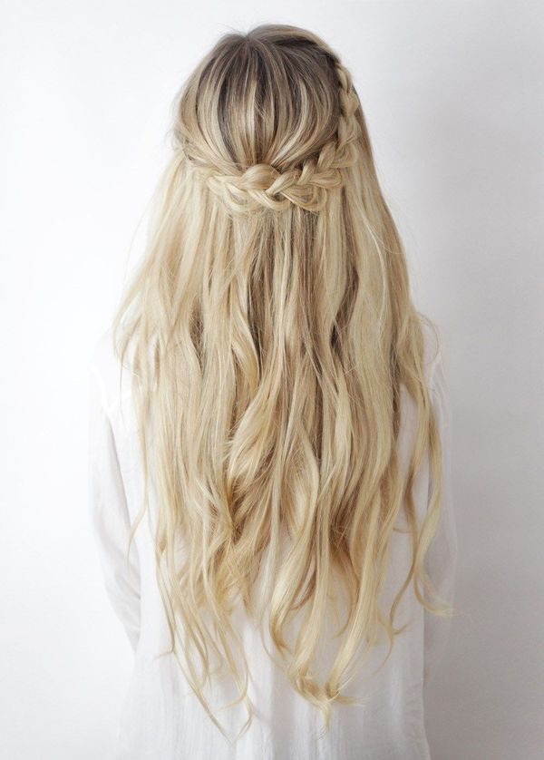 Beautiful long hair styles with braiding 5