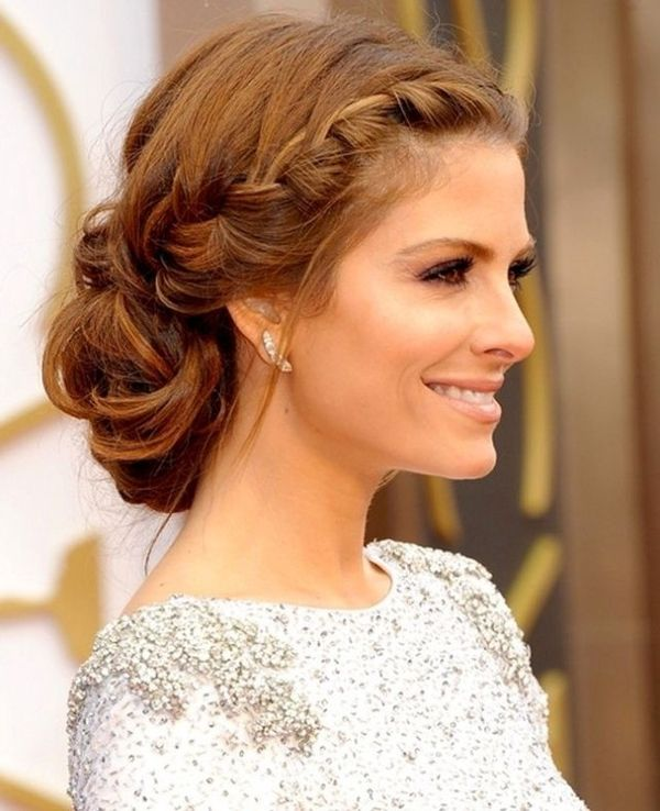 Casual prom up hairstyles for long hair 1