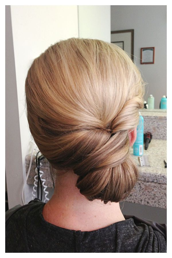 Casual prom up hairstyles for long hair 4