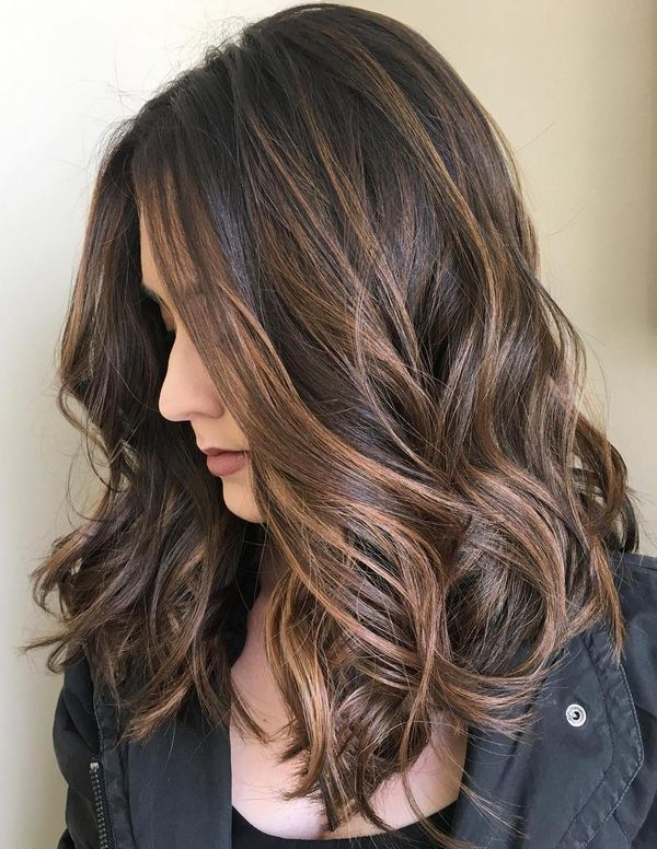 Chocolate Brown Balayage 2