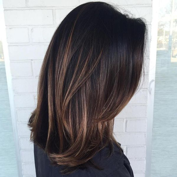 Chocolate Brown Balayage 3