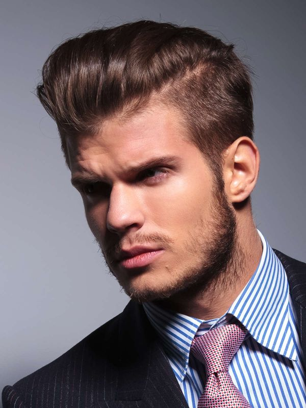 Classic Combed Back Hair 3