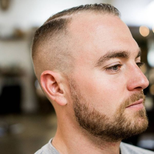 Classy Short Male Haircuts for Balding Men 3