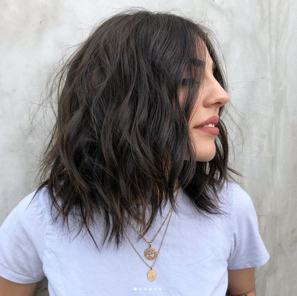 Cool Haircuts for Medium Length Thin Hair 2