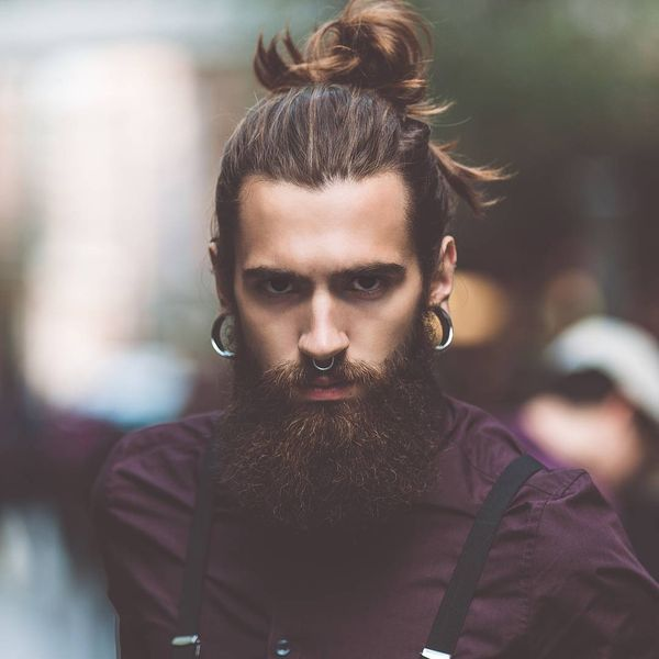 Cool Male Top Knot Hairstyles 3